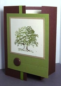 lovely as a tree card | trees
