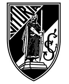 Vitoria SC of Guimaraes, Portugal crest. Soccer Logo, Football Team Logos, World Football, Football Soccer, Sports Logos, Soccer Teams, Europa League, Badge, Most Popular Sports
