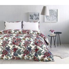 Floral 100% Cotton Duvet Cover Set