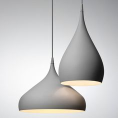 spinning bh1 pendant light - they come in black too