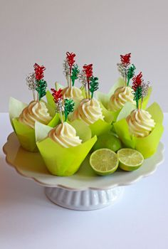 Cinco de Mayo - Tequila Lime Cupcakes