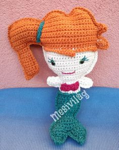Kawaii cuddler Mermaid, Crochet Hats, Kawaii, Marvel, Blog, Amigurumi, Knitting Hats, Marvel Marvel, Blogging