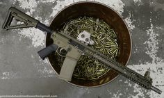 2A Armament LW 556 AR carbine FDE. With EO-Tech sight and Magpul furniture. 556 ammo action #36.