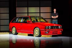 Two-Door V8 BMW E30 M3