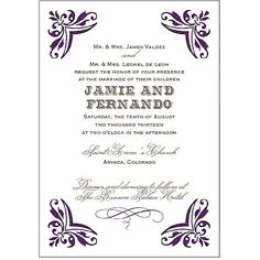 Personalize Wedding Invitations