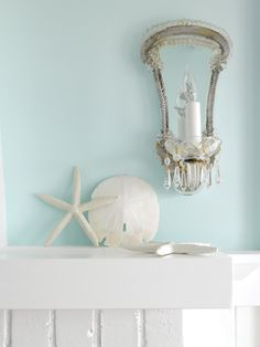 Describes what I seem to be drawn to. A little vintage glam mixed with coastal texture and some color. #Coastal