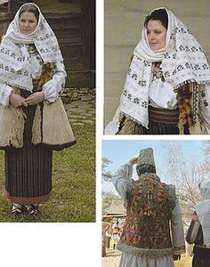 Costumes Around The World, Moldova, Folk Costume, Ethnic Fashion, Romania, Plaid Scarf, African, Textiles, Culture