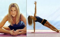 """""""I'm a Pilates person. It's great. I had a hip problem. I had a chronic back, a pinched nerve and a hip problem and it's completely solved all of it. I love it. It makes me feel like I'm taller."""" – Jennifer Anniston"""