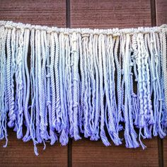 Image result for ombre macrame