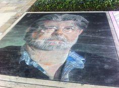 sidewalk chalk art | Tumblr