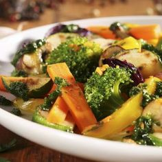 I'm checking out a delicious recipe for Veggie Stir-Fry from Kroger!