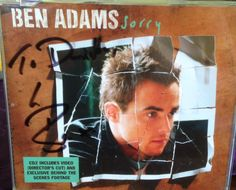 Ben adams sorry signed with my Name