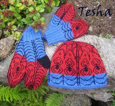 We call him Spidey… Crochet Dolls Free Patterns, Knitting Patterns Free, Free Knitting, Knit Crochet, Crochet Hats, Caps Hats, Knitted Hats, Spiderman, Winter Hats