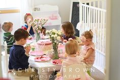 birthday party, toddler tea party