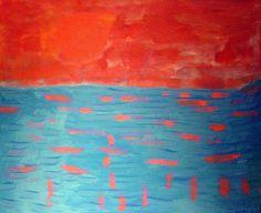 Milton Avery - Dawning Sun