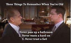 Bucket list never trust a fart