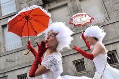 Anges et ombrelles - Rue Du Lavoir