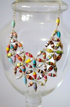 Paper jewelry Fun Paper Bead Crafts Spa Filters: Everything You Need To Know Article Body: Spa filte Paper Bead Jewelry, Beaded Jewelry, Handmade Jewelry, Jewellery, Quilling Jewelry, Paper Quilling, Metal Jewelry, Silver Jewelry, Bead Crafts