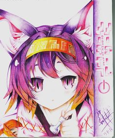 Izuna-No Game No Life Draw by Enmanuel