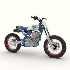 So Rad: #NX650 Vintage Edition @#by @dab_design_ inspired by the original Honda…