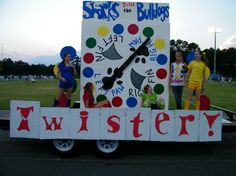 Twister parade float #homecoming