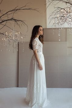 Dress SS15  Wedding dress Boho wedding dress Romantic Wedding