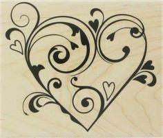 swirly heart... cool tattoo maybe??