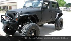 2010 Jeep Rubicon Unlimited Sinister Edition