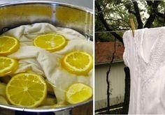 Come sbiancare il bucato senza cloro: 5 soluzioni naturali