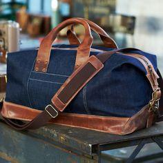 27f653563a Timberland® Premium Denim Weekender Bag