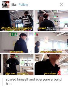 Loool I loved the bon voyage series. BTS as foreigners and their struggles Kookie Bts, Bts Bangtan Boy, Namjoon, Jimin, Taehyung, Bts Memes, Cypher Pt 4, Bts Love, Funny