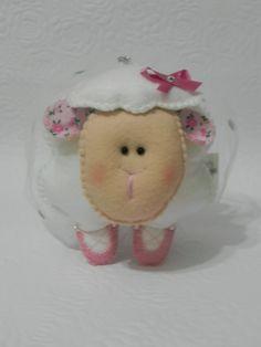 Ovelhinha Bailarina, uma ótima opção de presente para uma bailarina mirim. Lá na lojinha tem, confiram www.elo7.com.br