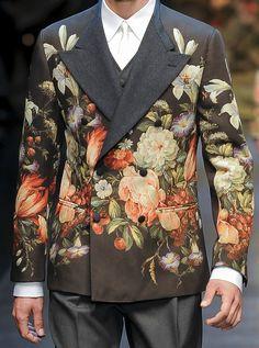 Dolce & Gabbana - Fall 2013 Menswear