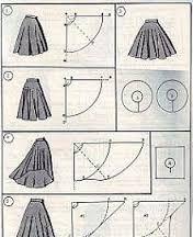 Znalezione obrazy dla zapytania spódnica z baskinką jak uszyc