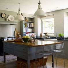 Discover kitchen design ideas on HOUSE - design, food and travel by House & Garden. This open-plan kitchen/living area creates a versatile space.