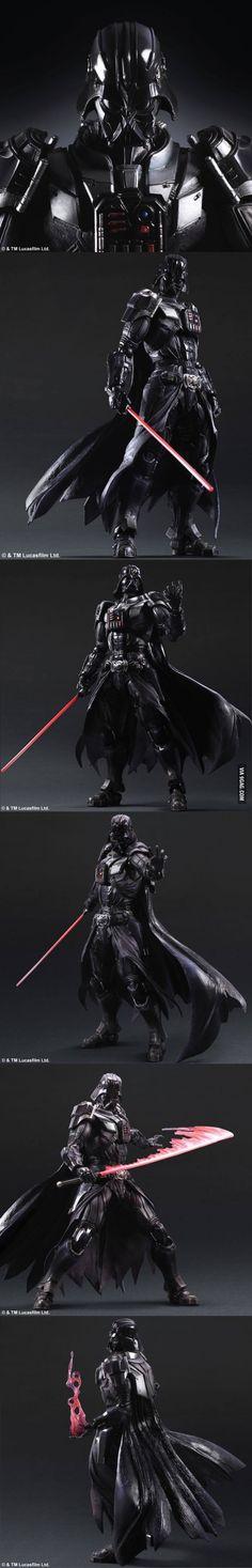 Play Arts Kai - Darth Vader, thoughts?