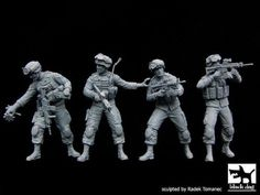Black-Dog-1-35-US-Soldiers-Special-Group-Recon-Scout-XT-Robot-4-Figures-F35081