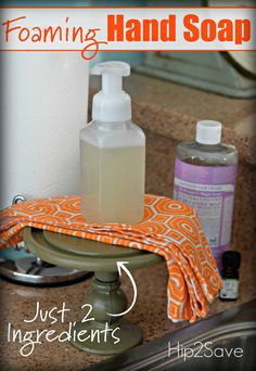 DIY Foaming Hand Soap (Just 2 Ingredients) – Hip2Save