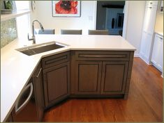 Sink Kitchen Cabinets Wall Plaques Luxury Professional Cabinet Painting Decorating Ideas Faucet Furniture