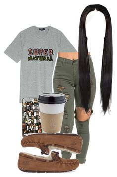 """""""SUPERNATURAL"""" by queen-alicia ❤ liked on Polyvore featuring Markus Lupfer and UGG Australia"""