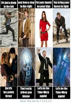 The TIme Warp #DoctorWho
