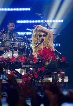 Lady Gaga performing at Roseland Ballroom Lady Gaga, Bradley Cooper, Roseland Ballroom, Pokerface, Best Dj, A Star Is Born, The Hollywood Reporter, Wedding Dj, Good Vibes