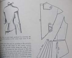 Pattern making - pleated detail on back-hem of ladies jacket // click through to download the book!