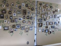 Family tree wall.