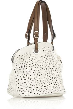 Marni Perforated leather tote5