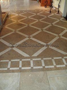 travertine tile patterns - Google Search