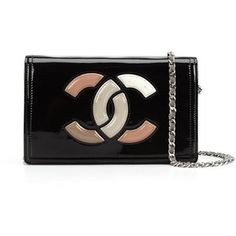 Pre-owned Chanel Vintage lipstick CC wallet on chain