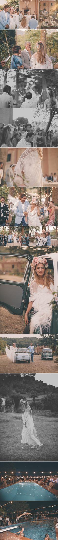 Boho Chic Wedding Sicily