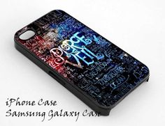 Pierce The Veil Quote galaxy for iPhone 4/4S/5/5S5C Case by Jaddah, $13.00