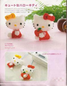 FREE Felt Hello Kitty Pattern